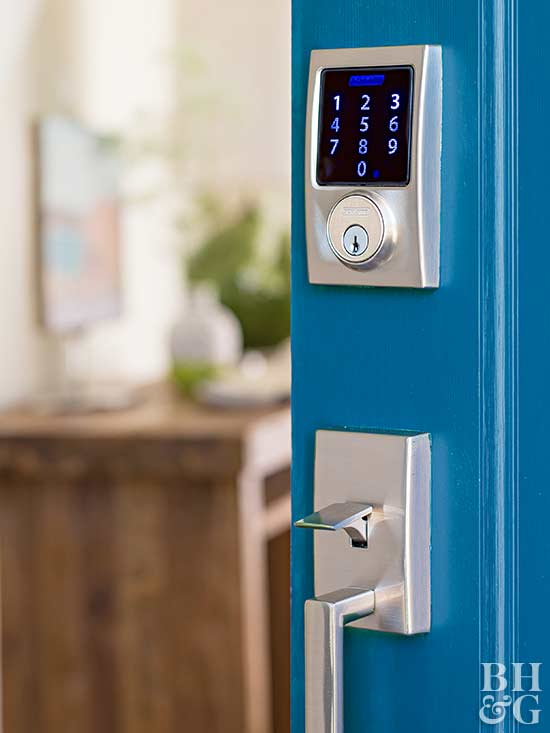 door lock keypad