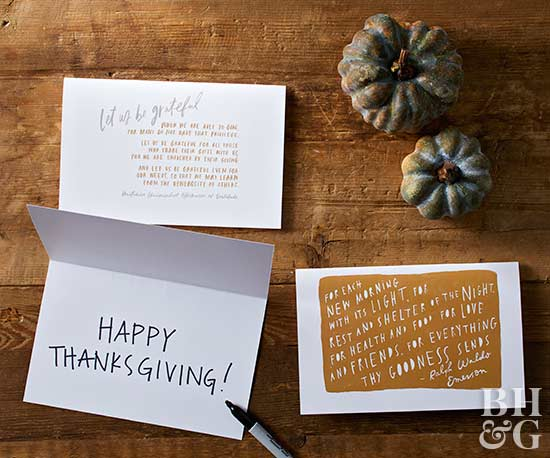 gratitude thanksgiving greeting cards