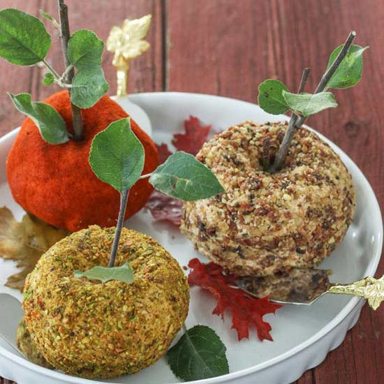 Fall cheese balls, cheese balls, appetizers,