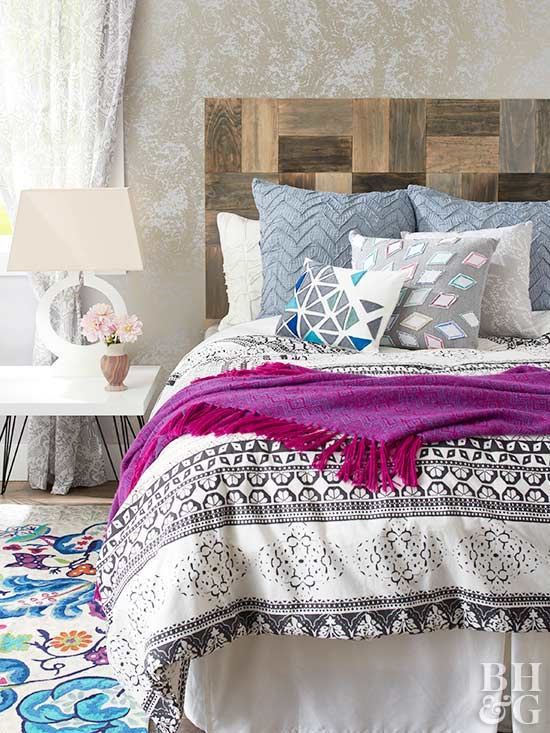 Driftwood Headboard, headboard, bedroom