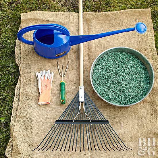 lawn fertilizing tools
