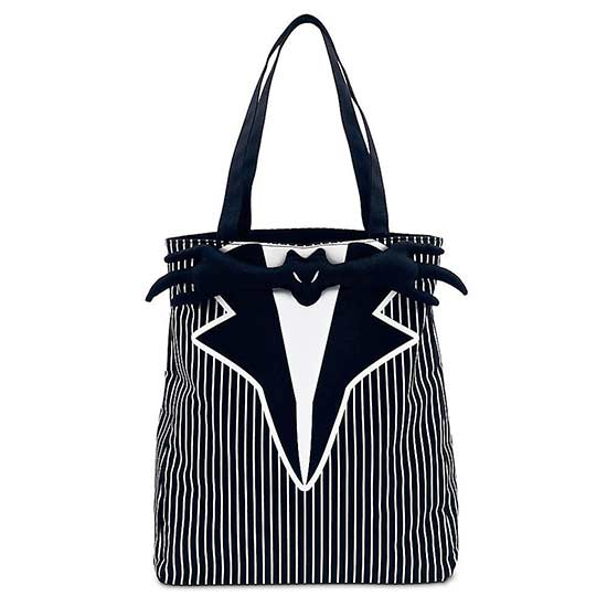 disney black-and-white bag with spider