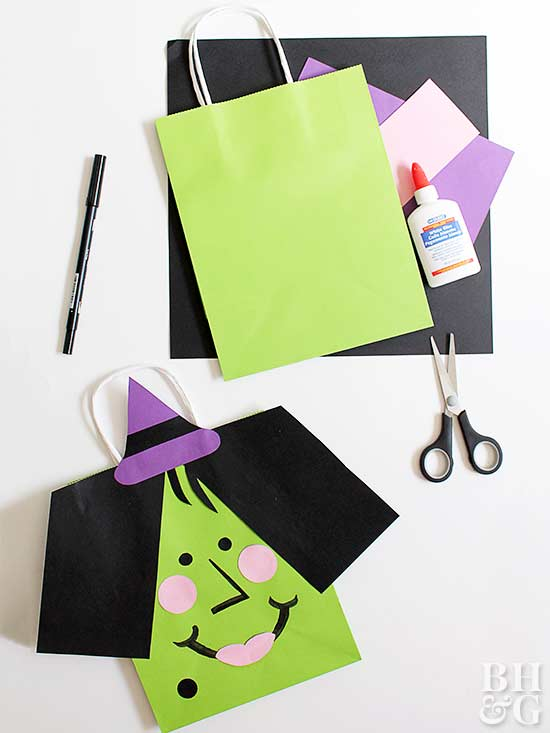 Vampire and Witch Bags, Halloween bags,