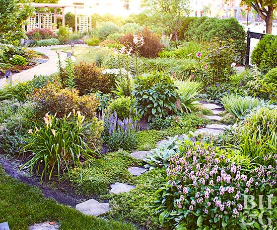 BHG Test Garden pathways