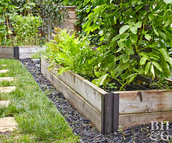 3-season raised garden bed