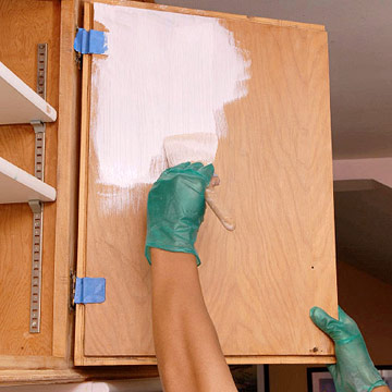 how do you paint cabinets