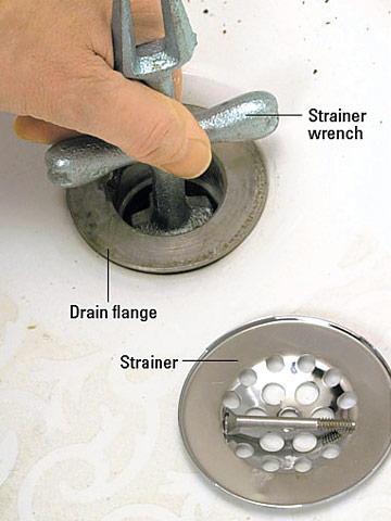 Step 2: Disconnect Drain