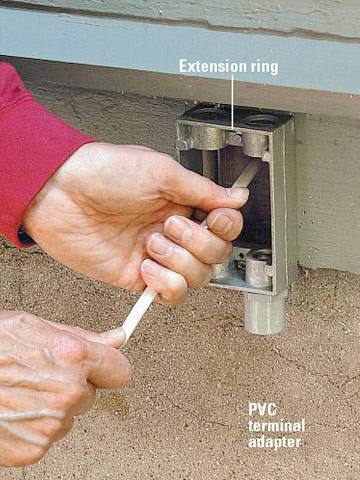 How to Extend Power Outdoors | Better Homes & Gardens