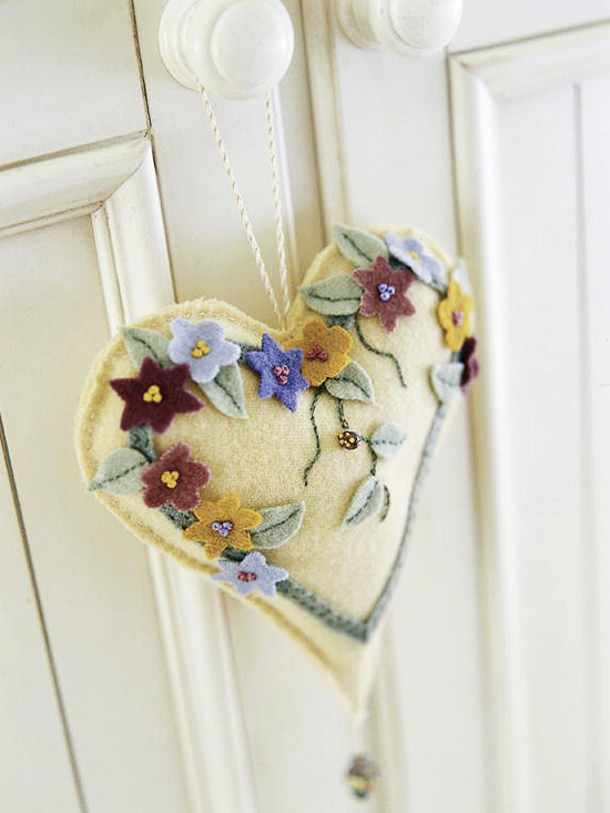 Small hanging heart