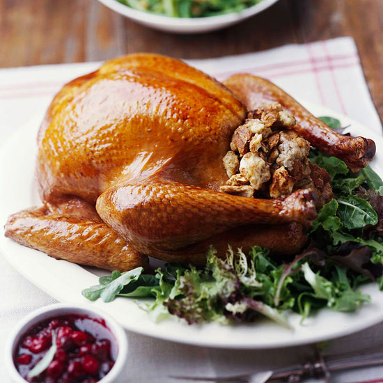 Classic Roast Turkey with Stuffing