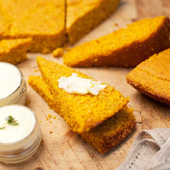 Make-Ahead Pumpkin Cornbread
