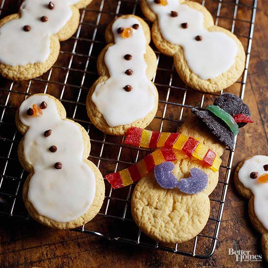 Holiday Snowmen Cookies