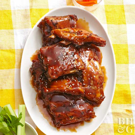 Asian-Style Barbecue Ribs