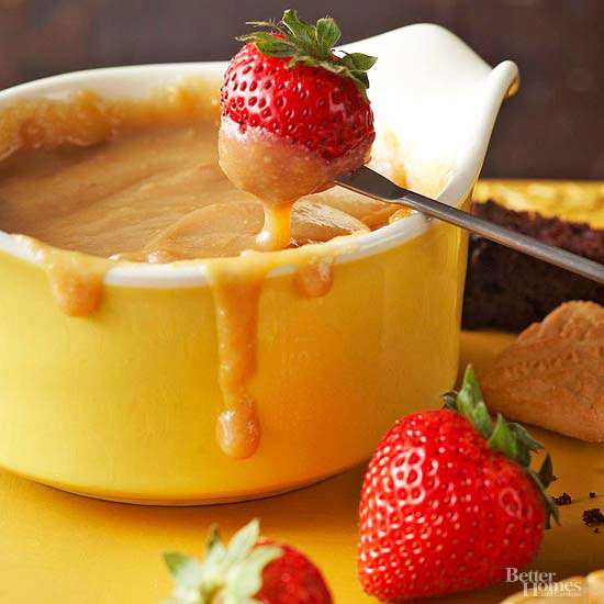 Butterscotch Fondue,
