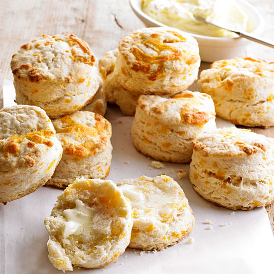 Flaky Cheddar Biscuits