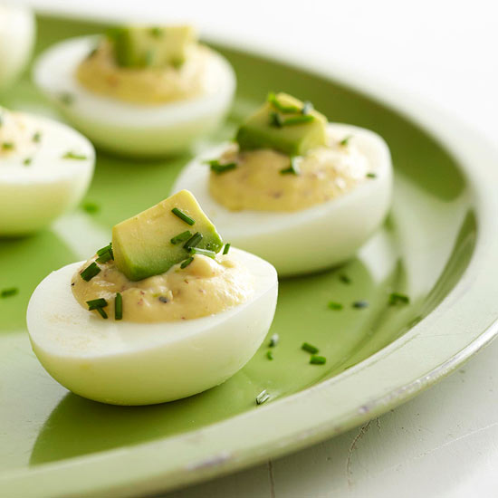 One dozen deliciously healthy ways to serve eggs better - Better homes and gardens deviled eggs ...