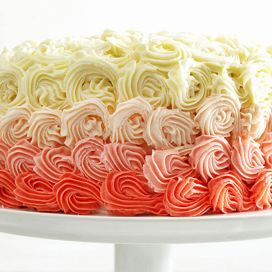 Double-Layer White Chocolate Cake