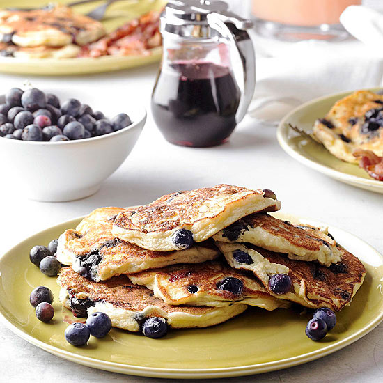 How To Make Blueberry Pancakes Better Homes Gardens