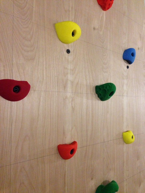 kids indoor climbing wall DIY