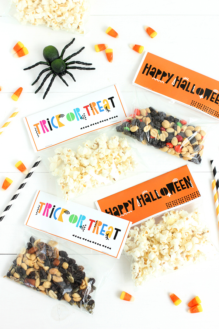 Halloween Treat Bag Free Printable