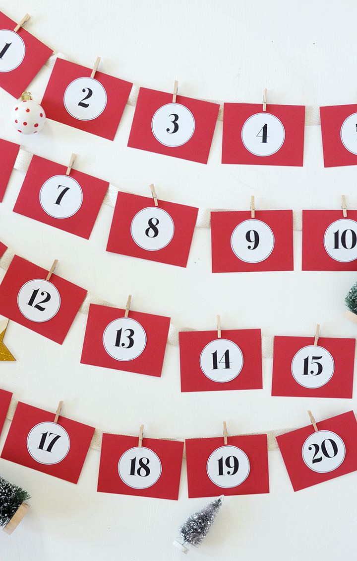 Create your own DIY Acts of Kindness Advent Calendar.
