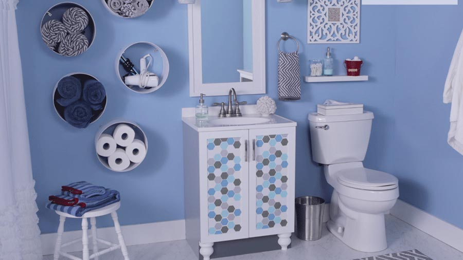7 Ways to Update a Basic Bathroom