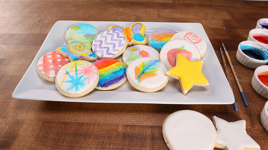 Cookie Art! Watercolor Cookie Decorating