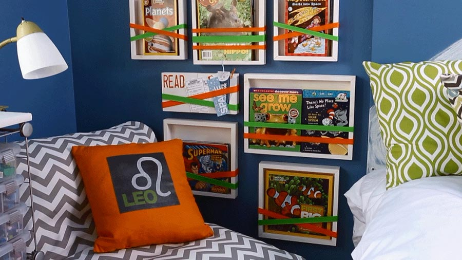 Creative Kid's Storage Room Tricks