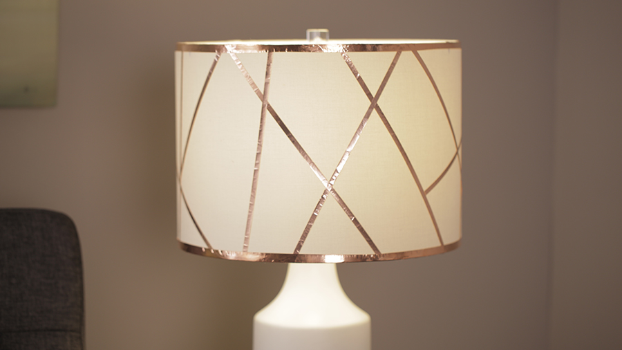 DIY Copper Lampshade