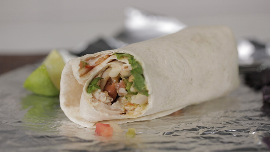 How to Roll the Perfect Burrito