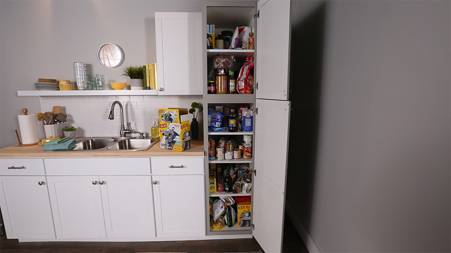 Plan the perfect butler 39 s pantry better homes gardens for Perfect kitchen organization