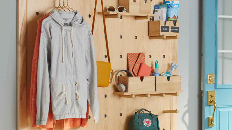 Pegboard Storage Hacks for Every Room