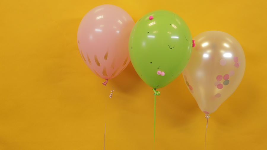 So-Simple and Adorable Party Balloons