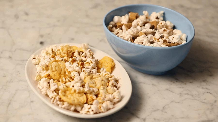 Two Quick and Easy Popcorn Snack Ideas