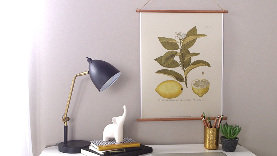 Pretty Botanical Wall Hanging